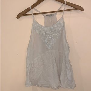 American Eagle Outfitters White Tank